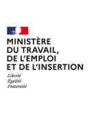 logo du ministère du travail, de l'emploi et de l'insertion