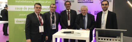 Signature d'une convention de partenariat entre Qualit'EnR et FEEBAT